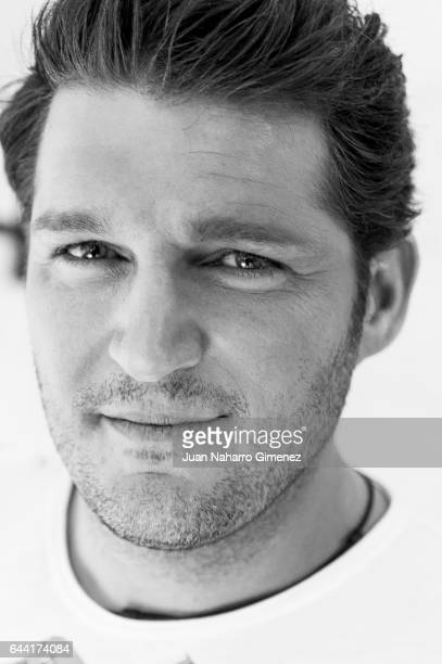 Manu Tenorio poses during a session portrait at Maison The Extreme Collection on February 23 2017 in Madrid Spain