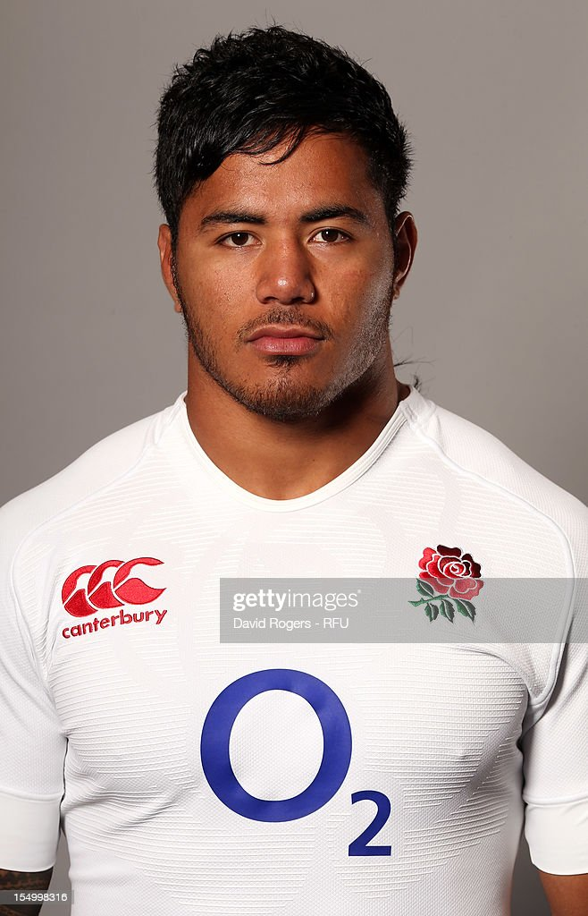 <a gi-track='captionPersonalityLinkClicked' href=/galleries/search?phrase=Manu+Tuilagi&family=editorial&specificpeople=5493832 ng-click='$event.stopPropagation()'>Manu Tuilagi</a> of England poses for a portrait on August 7, 2012 in Loughborough, England.