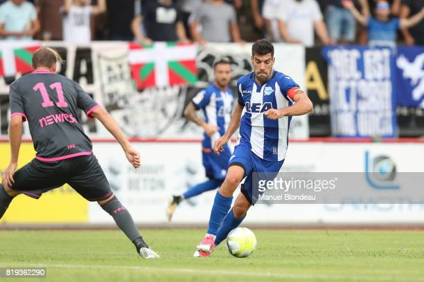 Manuel Alejandro Garcia of Alaves during the friendly match between Toulouse FC and Deportivo Alaves on July 19 2017 in Saint Jean de Luz France