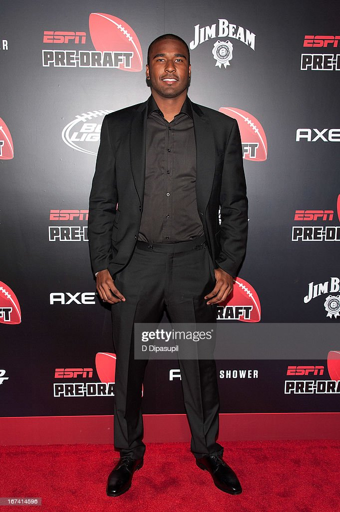EJ Manuel attends the ESPN The Magazine 10th annual Pre-Draft Party at The IAC Building on April 24, 2013 in New York City.
