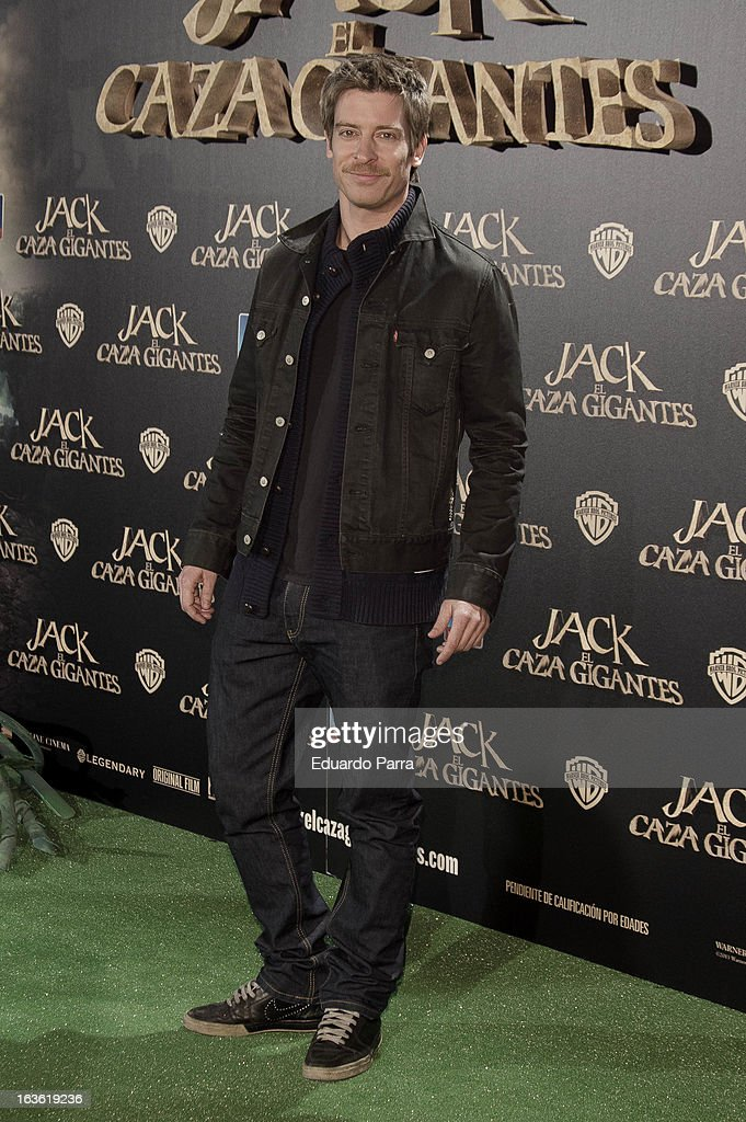 Manuel Baqueiro attends 'Jack el Caza Gigantes' premiere photocall at Kinepolis cinema on March 13, 2013 in Madrid, Spain.