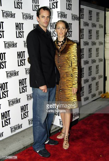 Manuel Boyer writer/director of 'Express' and wife Kim Raver