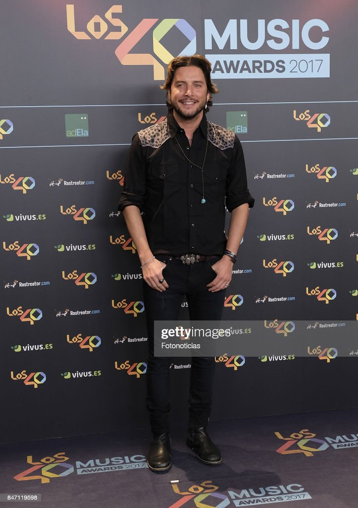 '40 Principales' Awards Nominated Dinner