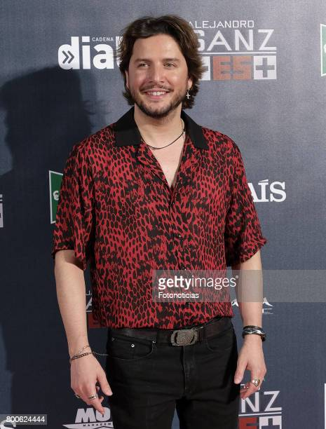 Manuel Carrasco attends the 'Mas Es Mas' concert photocall at Vicente Calderon stadium on June 24 2017 in Madrid Spain