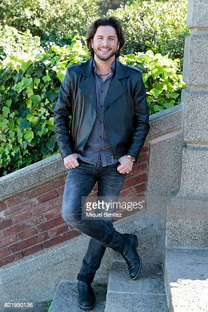 Manuel Carrasco attends the reception to the Ondas Awards 2016 winners press conference at the Palauet Albeniz on November 9 2016 in Barcelona Spain