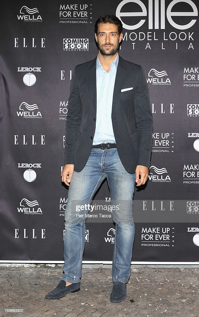 Manuel Casella attends 2012 Elite model look Italia photocall on October 8, 2012 in Milan, Italy.