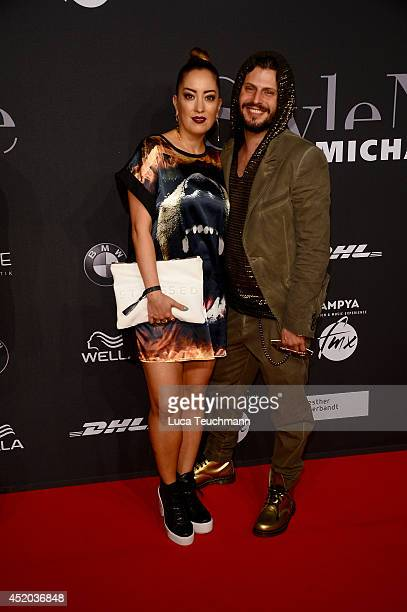 Manuel Cortez and Myabi Kawai attend the Michalsky Style Night at Tempodrom on July 11 2014 in Berlin Germany