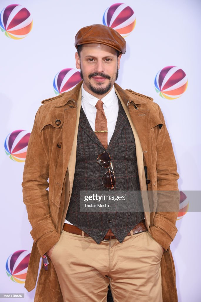 Manuel Cortez attends the photo call for the television film 'Nackt. Das Netz vergisst nie' at Astor Film Lounge on March 27, 2017 in Berlin, Germany.