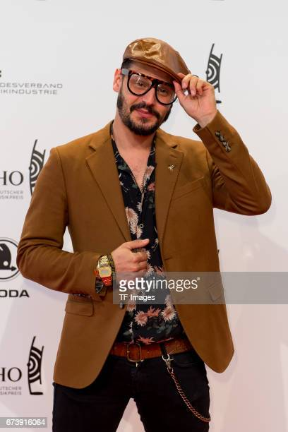 Manuel Cortez on the red carpet during the ECHO German Music Award in Berlin Germany on April 06 2017