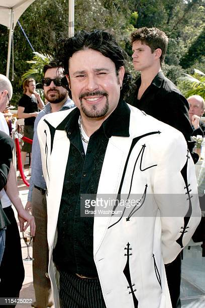 Manuel Cuevas Jr during Joaquin Phoenix and Manuel Cuevas Luncheon to Celebrate 'Walk the Line' at House of Flaunt in Hollywood California United...