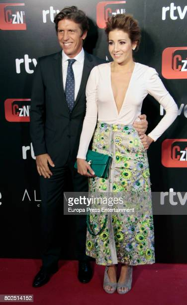 Manuel Diaz 'El Cordobes' and wife Virginia Troconis attend 'Corazon' TV Programme 20th Anniversary at Alma club on June 27 2017 in Madrid Spain
