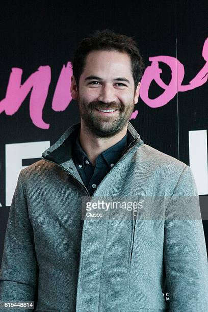 Manuel Garcia Rulfo poses during the presentation of the movie 'La Vida Inmoral de la Pareja Ideal' on October 17 Mexico City Mexico