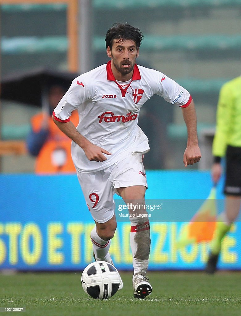 Manuel Iori of Padova during the Serie B match between Reggina Calcio and Calcio Padova on February 16, 2013 in Reggio Calabria, Italy.