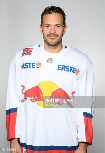 Manuel Latusa of EC Red Bull Salzburg during the portrait shot September 16 2016 in Salzburg Austria