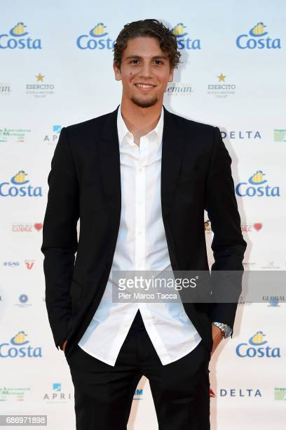 Manuel Locatelli attends the Gentleman Prize on May 22 2017 in Milan Italy