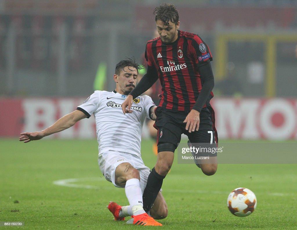 AC Milan v AEK Athens - UEFA Europa League