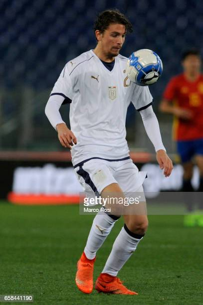 Manuel Locatelli of Spain U21 during the international friendly match between Italy U21 and Spain U21 at Olimpico Stadium on March 27 2017 in Rome...