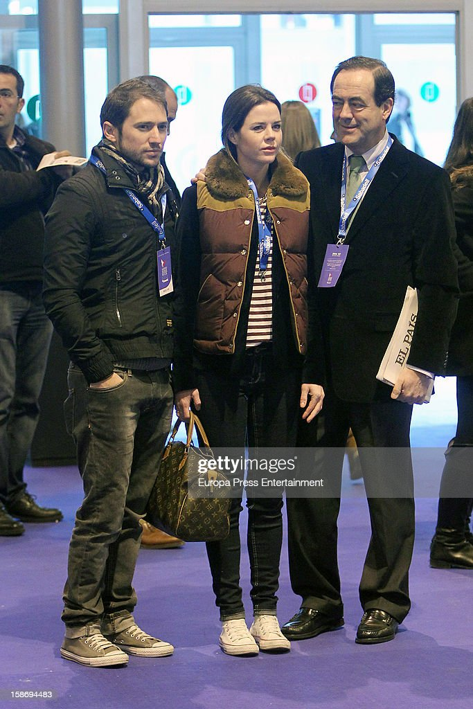 Manuel Martos, Amelia Bono and Jose Bono attend Madrid Horse Week Fair 2012 at Ifema on December 22, 2012 in Madrid, Spain.