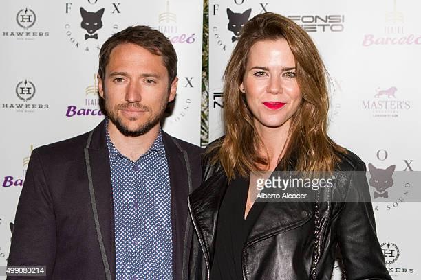 Manuel Martos and Amelia Bono attend Fonsi Nieto's birthday party on November 28 2015 in Madrid Spain