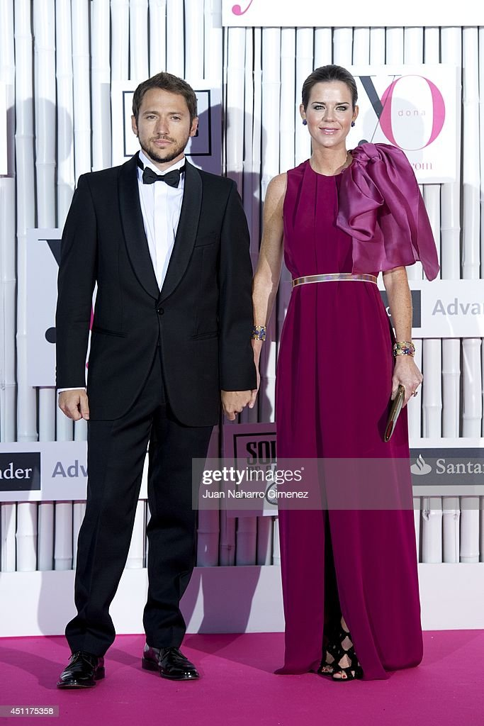 Manuel Martos (L) and <a gi-track='captionPersonalityLinkClicked' href=/galleries/search?phrase=Amelia+Bono&family=editorial&specificpeople=5614493 ng-click='$event.stopPropagation()'>Amelia Bono</a> attend 'IX International Yo Dona Awards' at Zarzuela Hippodrome on June 24, 2014 in Madrid, Spain.