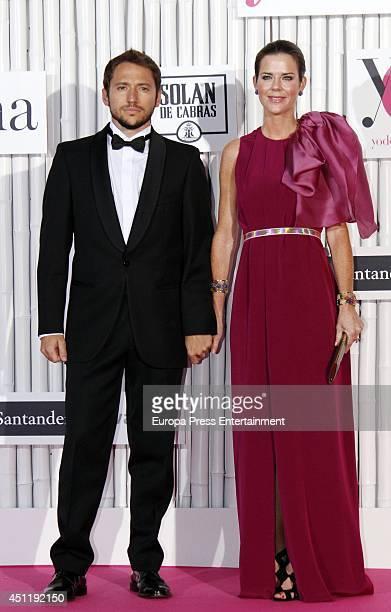 Manuel Martos and Amelia Bono attend 'IX International Yo Dona Awards' on June 24 2014 in Madrid Spain