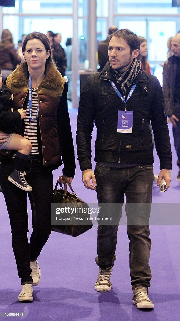 Manuel Martos and Amelia Bono attend Madrid Horse Week Fair 2012 at Ifema on December 22, 2012 in Madrid, Spain.