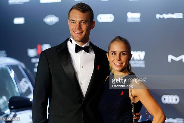 Manuel Neuer and Nina Weiss arrive at the 23rd Opera Gala at Deutsche Oper Berlin on November 5 2016 in Berlin Germany