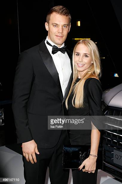 Manuel Neuer and Nina Weiss attend the 22nd Opera Gala at Deutsche Oper Berlin on November 7 2015 in Berlin Germany