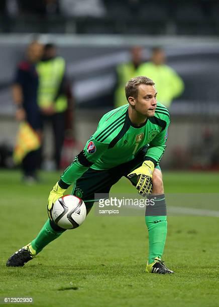 Manuel Neuer Deutschland Germany EM Qualifikation Fussball Deutschland Polen 31 EM Qualifation Germany Poland