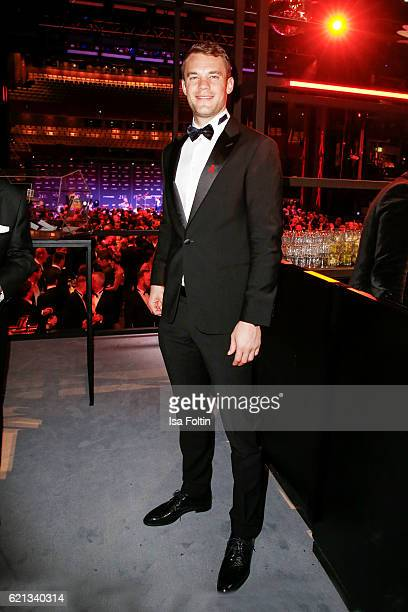 Manuel Neuer goal keeper of the national soccer team attends the aftershow party during the 23rd Opera Gala at Deutsche Oper Berlin on November 5...
