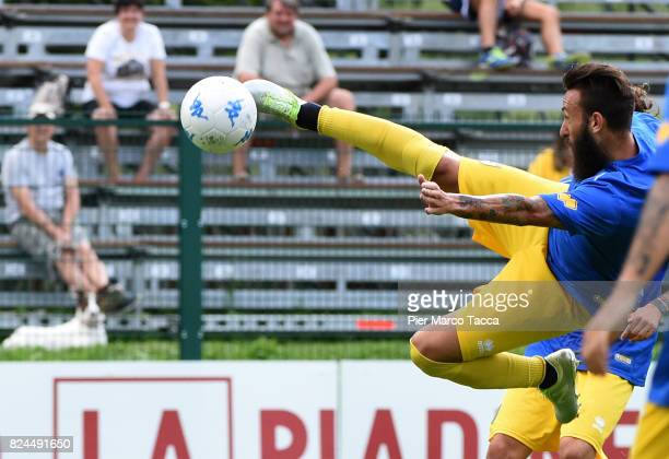 Manuel Nocciolini of Parma Calcio in action during the preseason friendly match between Parma Calcio and Dro on July 30 2017 in Pinzolo near Trento...