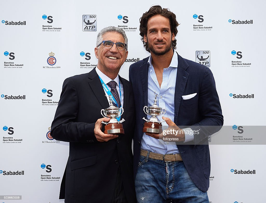 Celebrities Attend Tennis Barcelona Open Banc Sabadell Day 5