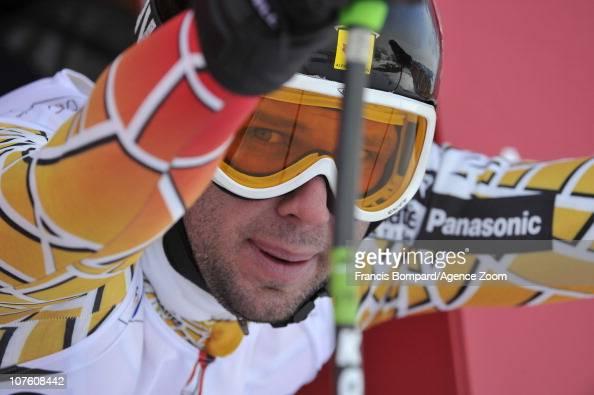 Manuel OsborneParadis of Canada competes during the Audi FIS Alpine Ski World Cup Men's Downhill Training on December 15 2010 in Val Gardena Italy