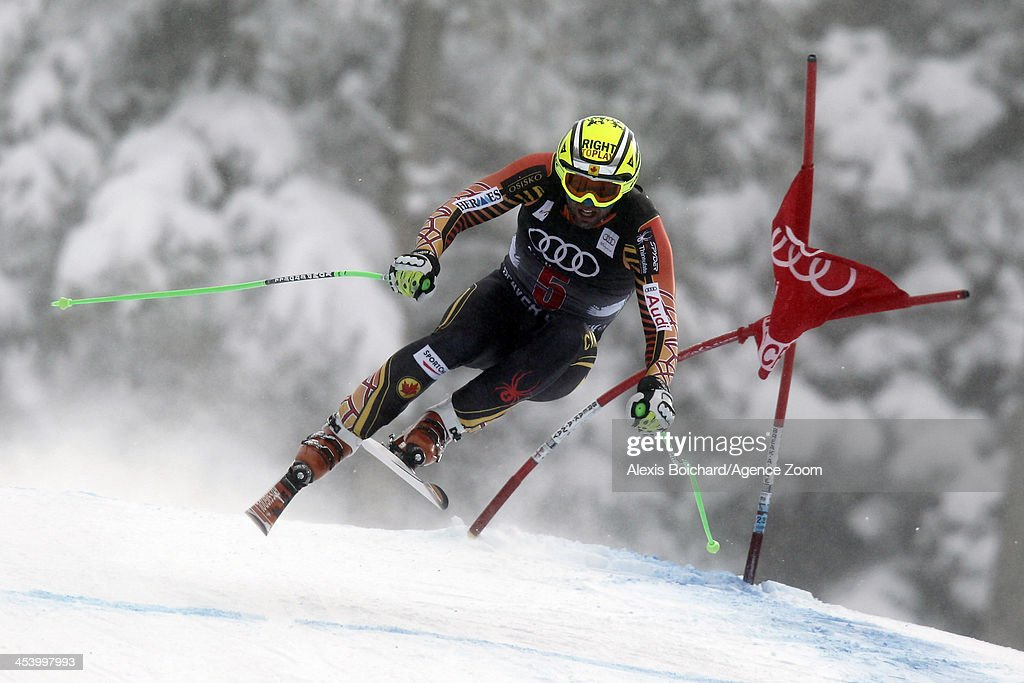 Manuel OsborneParadis of Canada competes during the Audi FIS Alpine Ski World Cup Men's Downhill on December 06 2013 in Beaver Creek Colorado