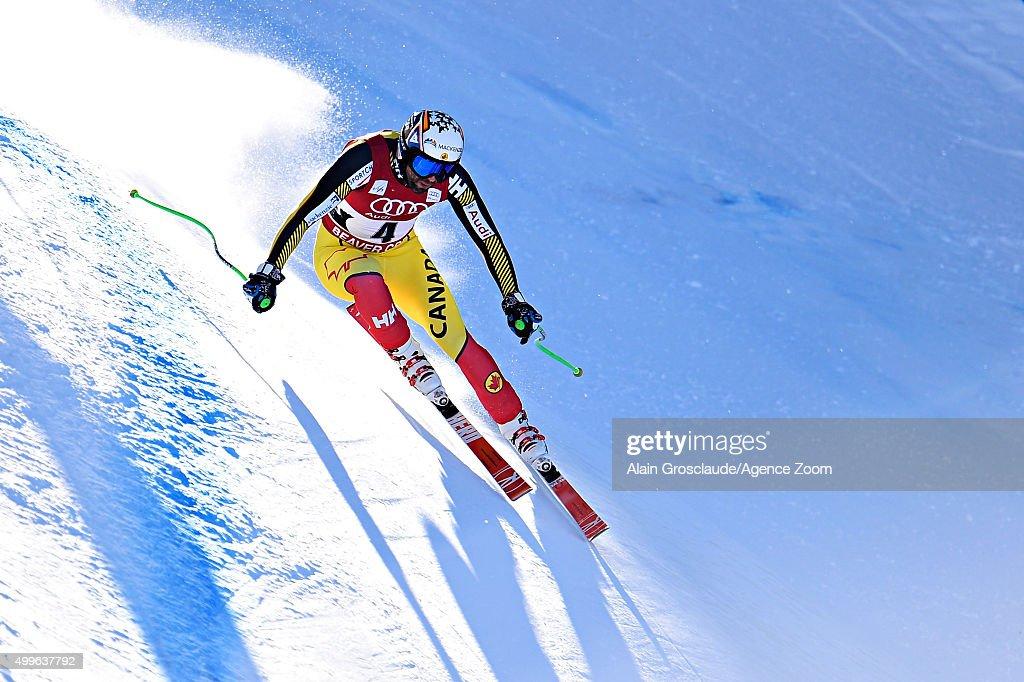 Manuel OsborneParadis of Canada competes during the Audi FIS Alpine Ski World Cup Men's Downhill Training on December 02 2015 in Beaver Creek Colorado