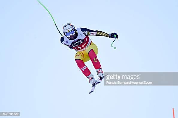 Manuel OsborneParadis of Canada competes during the Audi FIS Alpine Ski World Cup Men's Downhill on December 29 2015 in Santa Caterina Valfurva Italy