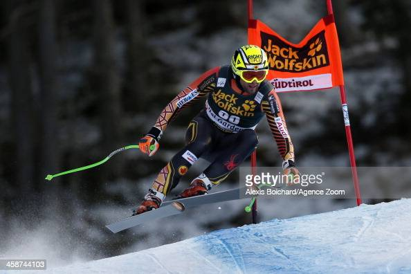 Manuel OsborneParadis of Canada during the Audi FIS Alpine Ski World Cup Men's Downhill on December 21 2013 in Val Gardena Italy