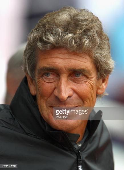 Manuel Pellegrini head coach of Villarreal during The Bobby Moore Cup pre season friendly match between West Ham United and Villarreal at Upton Park...