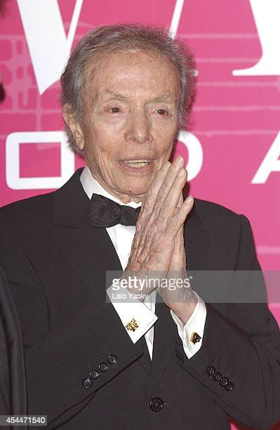Manuel Pertegaz attends Telva Fashion Awards on October 6 2003 in Madrid Spain