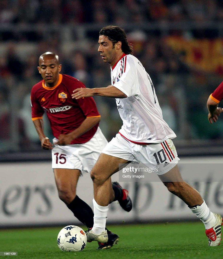 Manuel Rui Costa of AC Milan in action