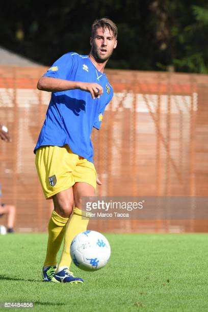 Manuel Scavone of Parma Calcio in action during the preseason friendly match between Parma Calcio and Dro on July 30 2017 in Pinzolo near Trento Italy