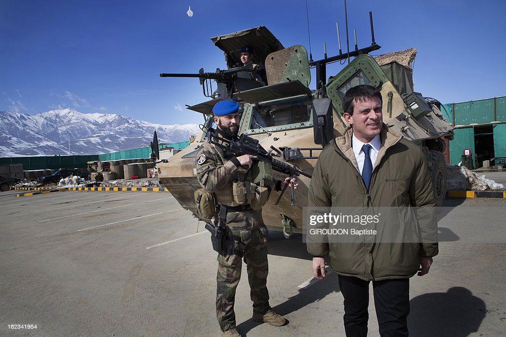 <a gi-track='captionPersonalityLinkClicked' href=/galleries/search?phrase=Manuel+Valls&family=editorial&specificpeople=2178864 ng-click='$event.stopPropagation()'>Manuel Valls</a>, Minister of the Interior during his visit to the region on February 15, 2013 in Afghanistan.