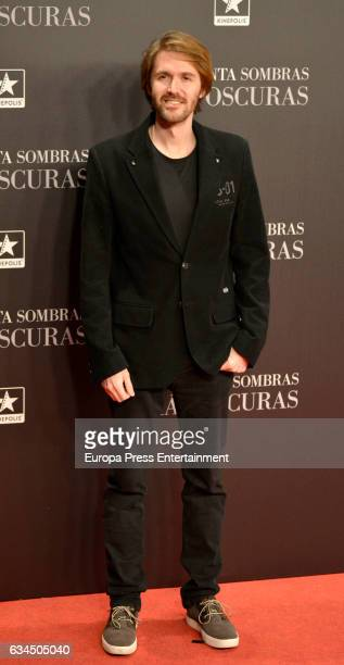 Manuel Velasco attend 'Fifty Shades Darker' premiere at Kinepolis cinema on February 8 2017 in Madrid Spain
