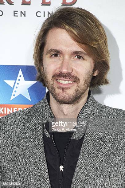 Manuel Velasco attends 'Assassin's Creed' premiere at Kinepolis cinema on on December 22 2016 in Madrid Spain