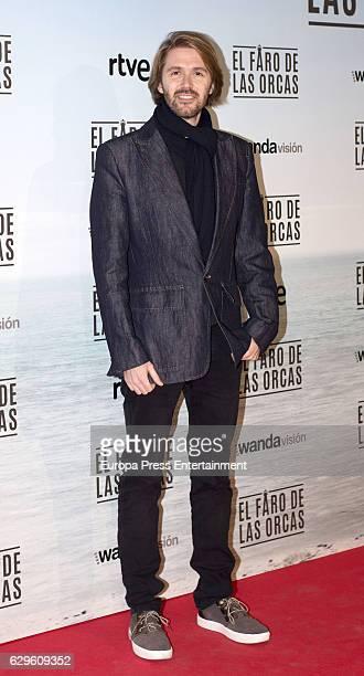 Manuel Velasco attends 'El faro de las orcas' premiere at Capitol cinema on December 13 2016 in Madrid Spain