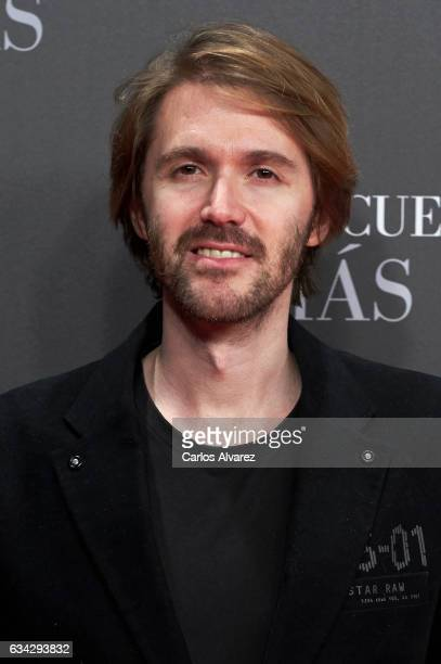 Manuel Velasco attends 'Fifty Shades Darker' premiere at the Kinepolis cinema on February 8 2017 in Madrid Spain