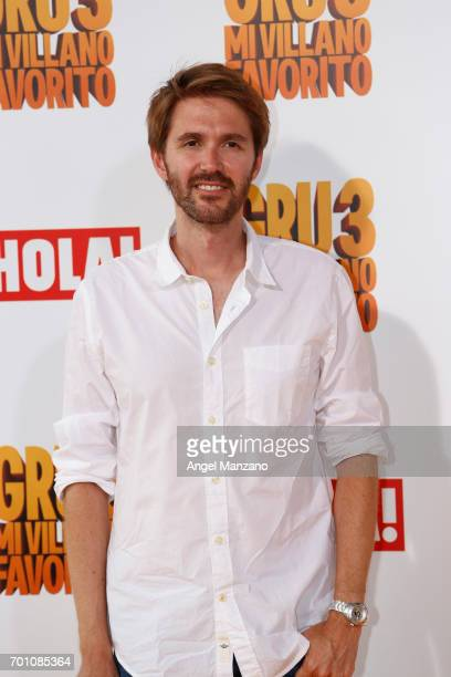 Manuel Velasco attends the 'Despicable Me 3' premiere at Kinepolis cinema on June 22 2017 in Madrid SPAIN