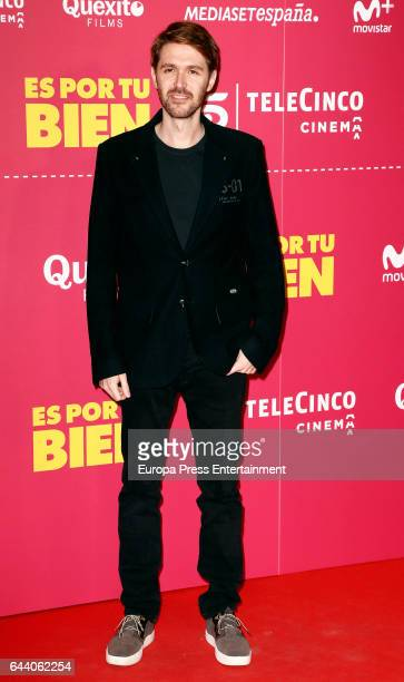 Manuel Velasco attends the 'Es por tu bien' premiere at Capitol cinema on February 22 2017 in Madrid Spain