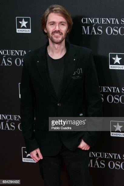 Manuel Velasco attends the 'Fifty Shades Darker' premiere at Kinepolis Cinema on February 8 2017 in Madrid Spain