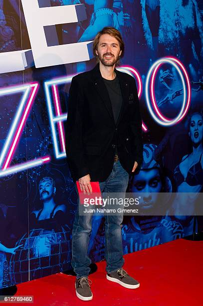 Manuel Velasco attends 'The Hole Zero' premiere at Calderon Theater on October 4 2016 in Madrid Spain